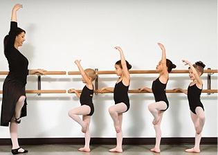 Ballet Clássico para Crianças e Adolescentes