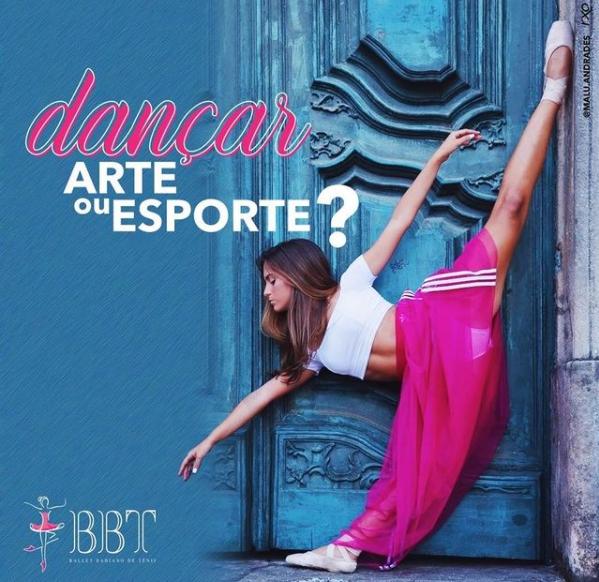 Dançar: Arte ou Esporte?