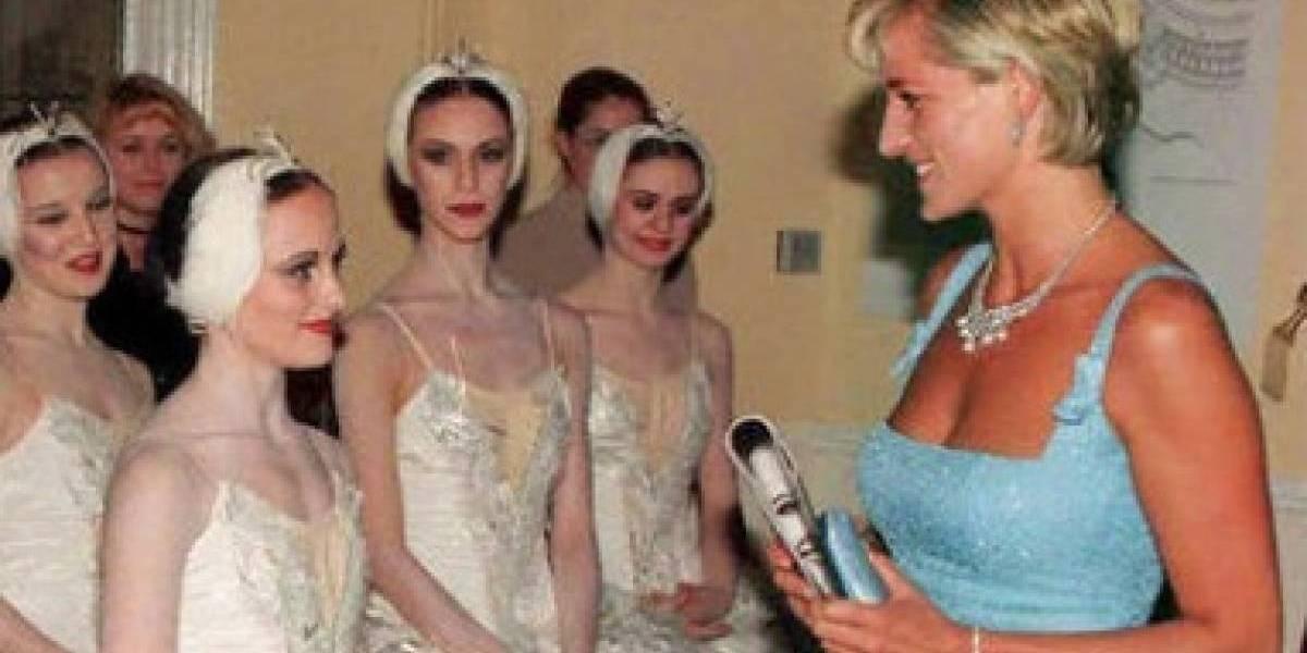 O dia em que princesa Diana quebrou o protocolo com seu amor pelo balé
