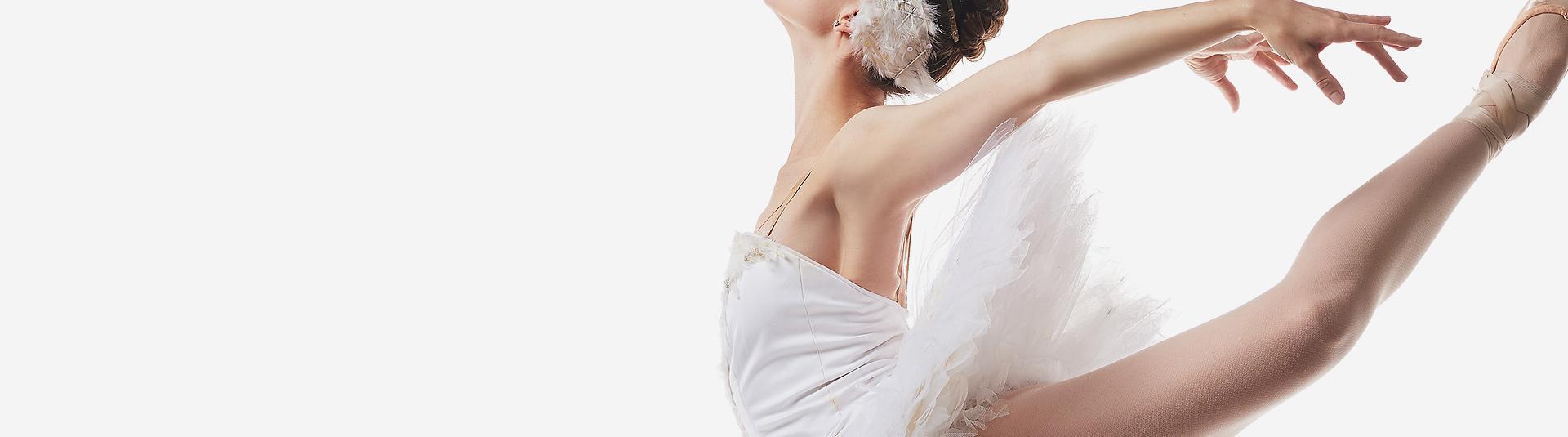 44 anos de tradição<br> em ballet clássico